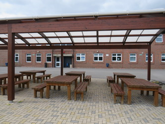 Picnic Area - AIM North London - Enfield - 2 - SchoolHire