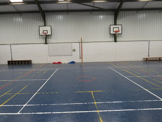 Sports Hall - South Charnwood High School - Leicestershire - 2 - SchoolHire