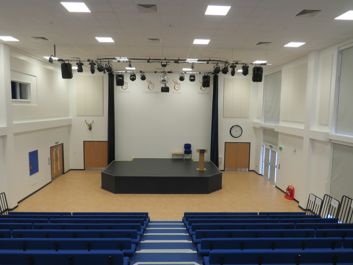Assembly Hall - The Beaulieu Park School - Essex - 2 - SchoolHire
