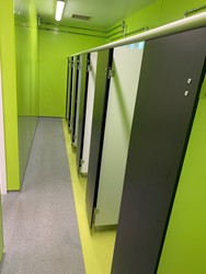Sports Hall Changing Rooms  - St John Bosco Arts College - Liverpool - 3 - SchoolHire