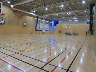Sports Hall - Drapers' Academy - Havering - 2 - SchoolHire