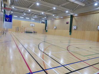 Sports Hall - Drapers' Academy - Havering - 4 - SchoolHire