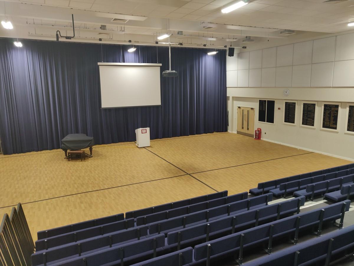Main Hall  - SLS @ Upton Court Grammar School - Slough - 2 - SchoolHire