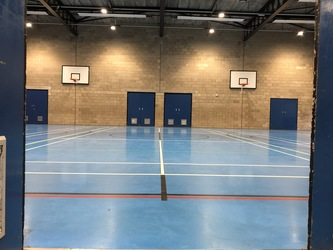 Sports Hall - Linton Sports Centre - Cambridgeshire - 1 - SchoolHire