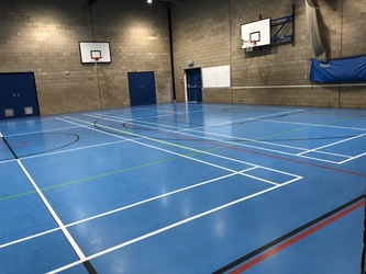 Sports Hall - Linton Sports Centre - Cambridgeshire - 2 - SchoolHire