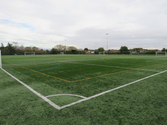 Astro Turf Pitch 1 (1/3) END PITCH - Kingsdown School - Swindon - 1 - SchoolHire
