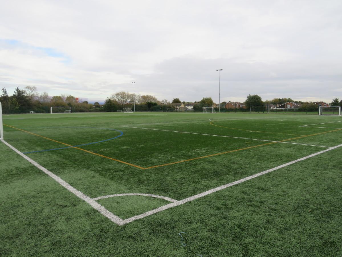 Astro Turf Pitch 2 (1/3) MIDDLE PITCH - Kingsdown School - Swindon - 1 - SchoolHire