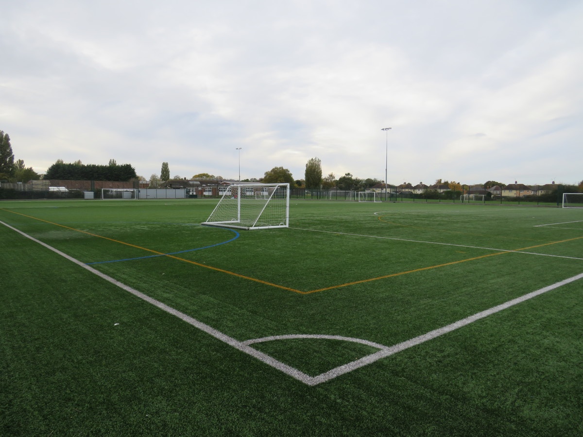 Astro Turf Pitch 3 (1/3) END PITCH - Kingsdown School - Swindon - 2 - SchoolHire