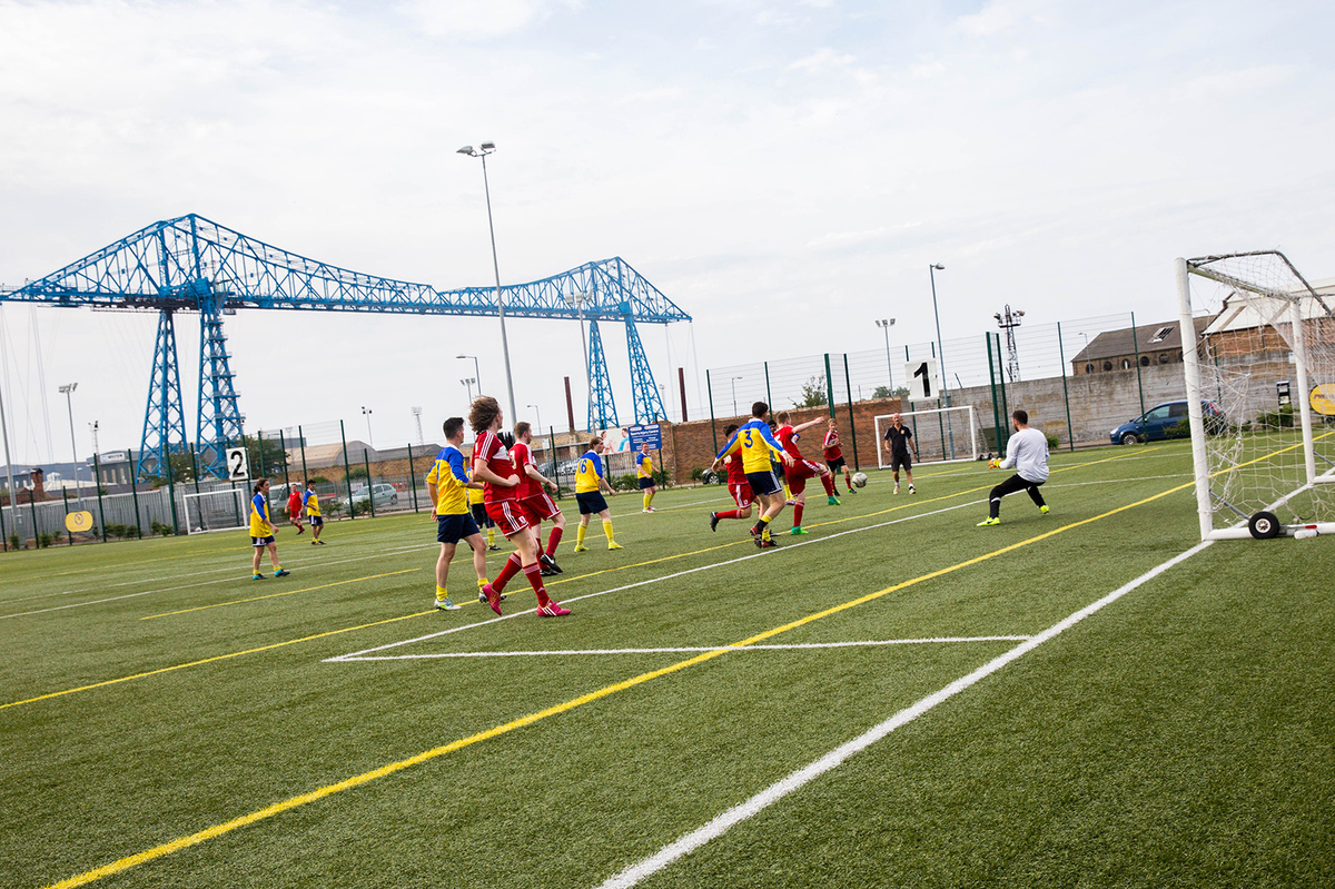 3G Football Pitch - Middlesbrough College - Middlesbrough - 4 - SchoolHire