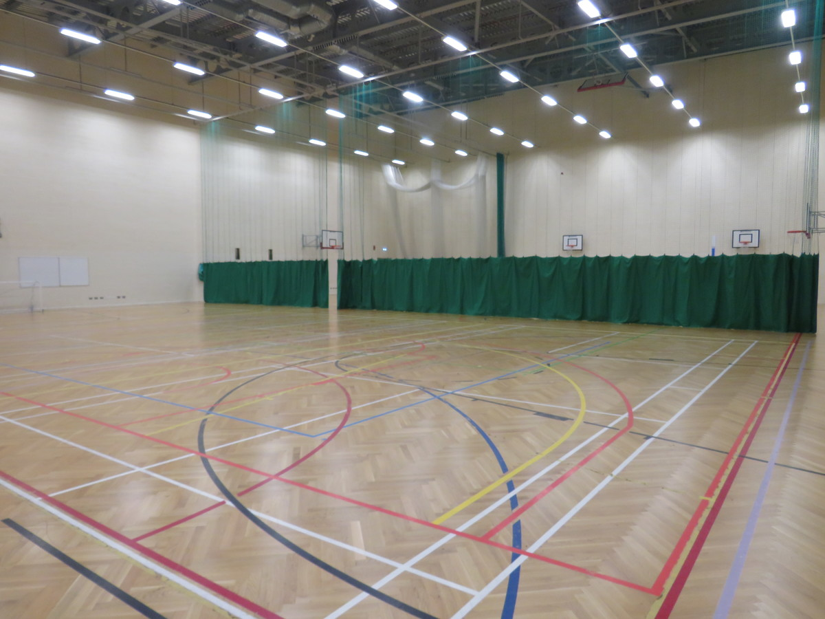 Sports Hall - Middlesbrough College - Middlesbrough - 1 - SchoolHire