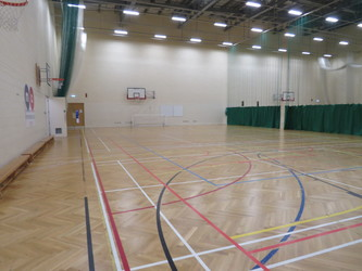 Sports Hall - Middlesbrough College - Middlesbrough - 2 - SchoolHire