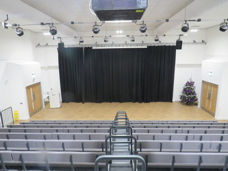 Main Hall - Chertsey High School - Surrey - 1 - SchoolHire