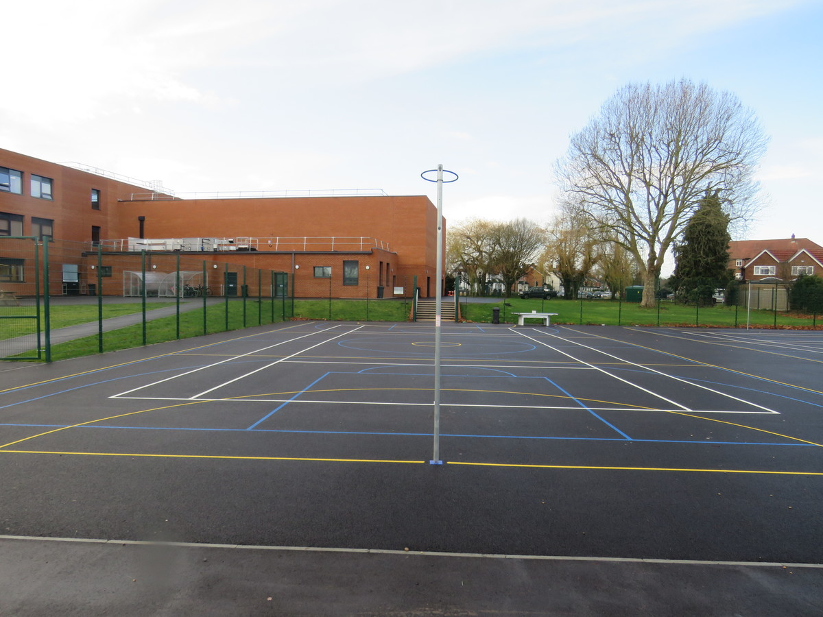 MUGA - Chertsey High School - Surrey - 2 - SchoolHire