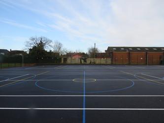 MUGA - Chertsey High School - Surrey - 4 - SchoolHire