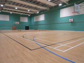 Sports Hall - Chertsey High School - Surrey - 1 - SchoolHire