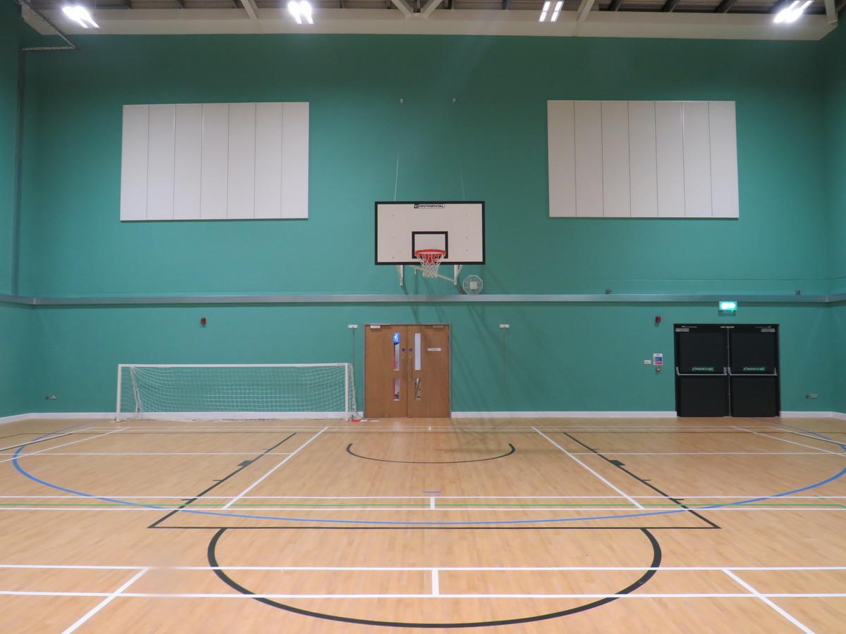 Sports Hall - Chertsey High School - Surrey - 2 - SchoolHire