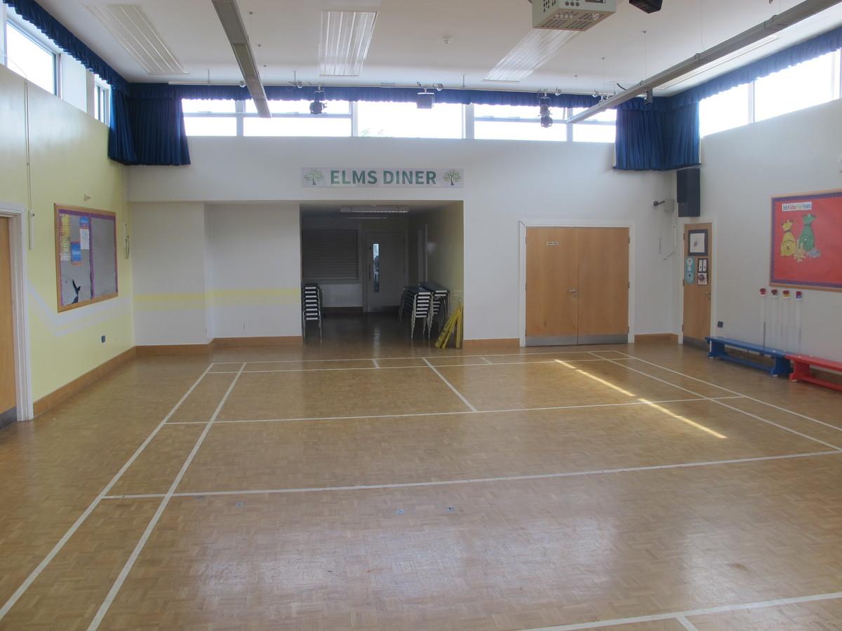 Main Hall - Elms School - Kent - 2 - SchoolHire