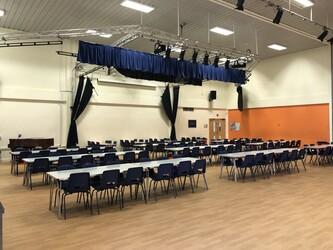 Main School Hall - Seahaven Academy - East Sussex - 1 - SchoolHire
