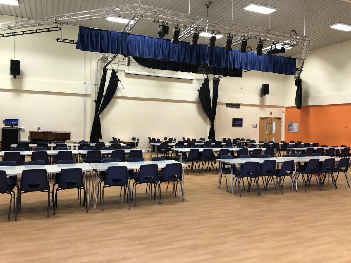 Main School Hall - Seahaven Academy - East Sussex - 2 - SchoolHire