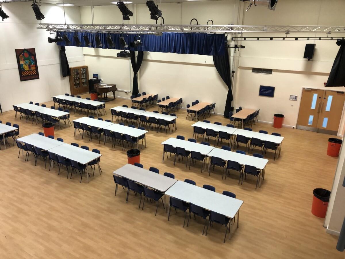 Main School Hall - Seahaven Academy - East Sussex - 3 - SchoolHire