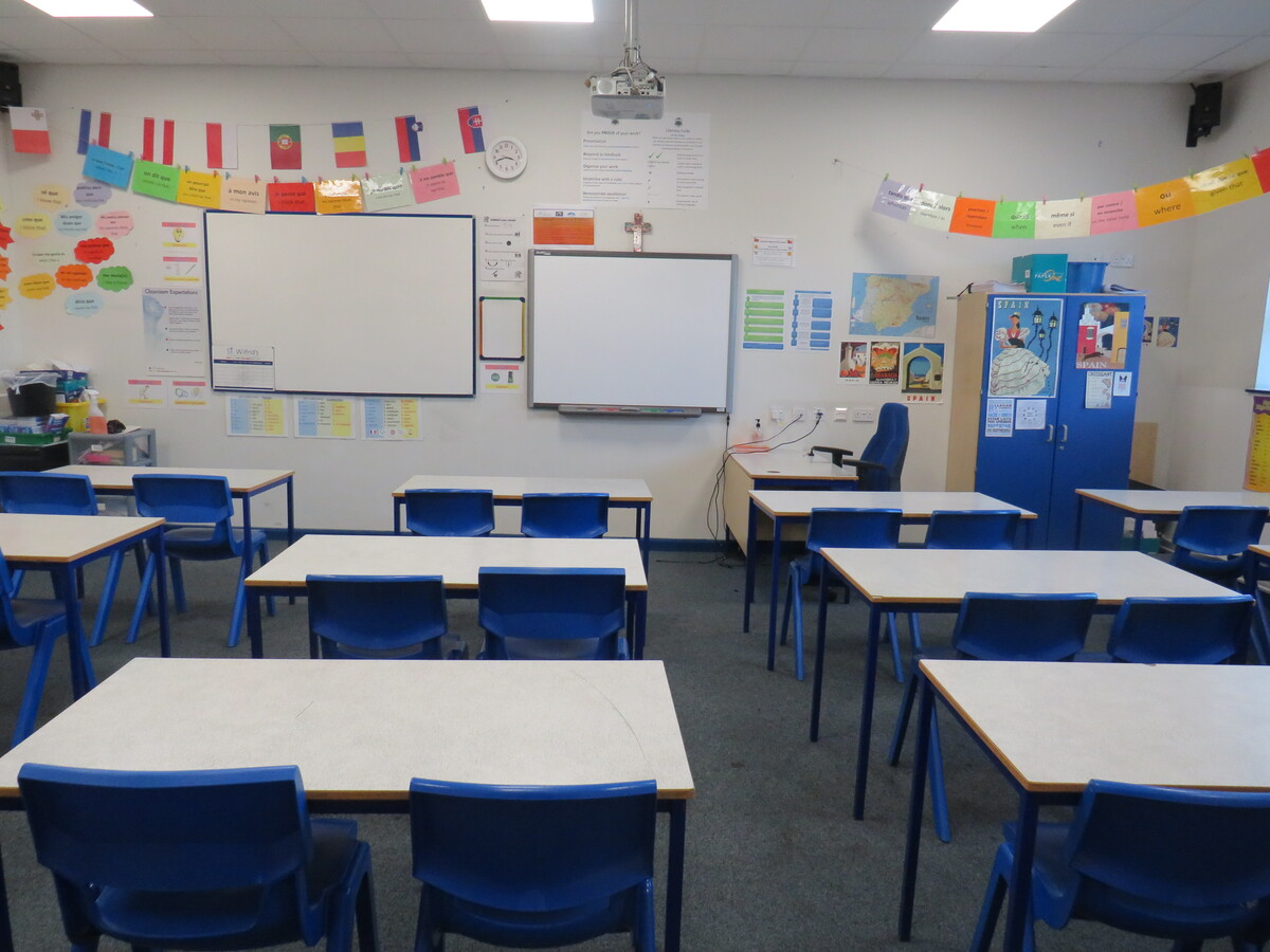 Classrooms - St Wilfrid's Catholic High School & Sixth Form College - West Yorkshire - 2 - SchoolHire
