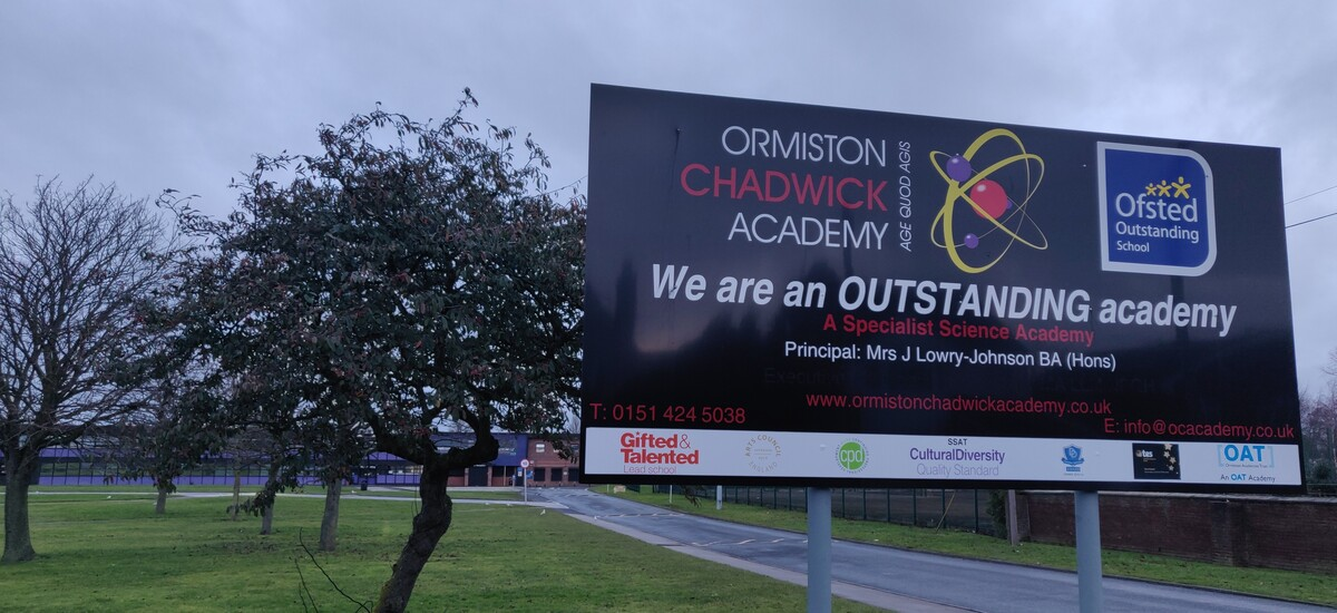 SLS @ Ormiston Chadwick Academy - Cheshire West and Chester - 2 - SchoolHire