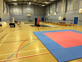 Sports Hall - Sewell Park Academy - Norfolk - 1 - SchoolHire