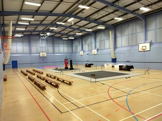 Sports Hall - Sewell Park Academy - Norfolk - 2 - SchoolHire