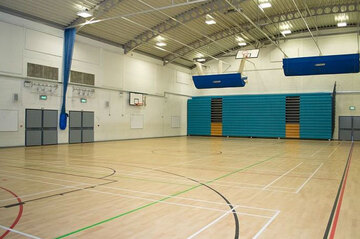 Sports Hall - St Wilfrid's Catholic High School & Sixth Form College - West Yorkshire - 1 - SchoolHire