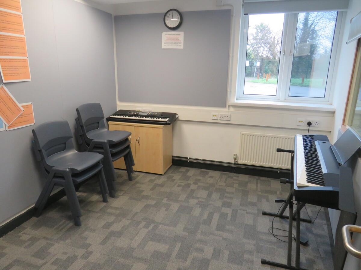 Music Rehearsal Rooms (Small) - Rickmansworth School - Hertfordshire - 2 - SchoolHire