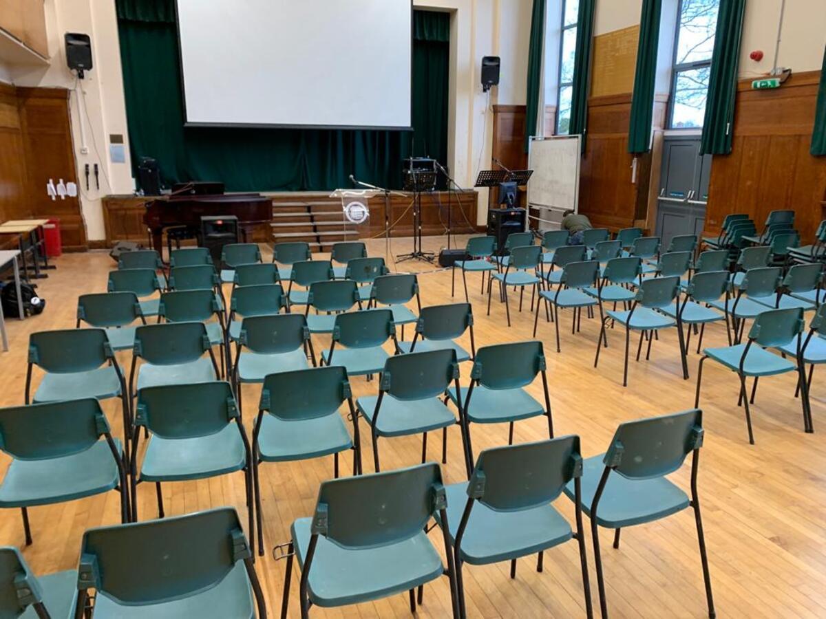 Main Hall  - SLS @ Beverley Grammar School - East Riding of Yorkshire - 2 - SchoolHire