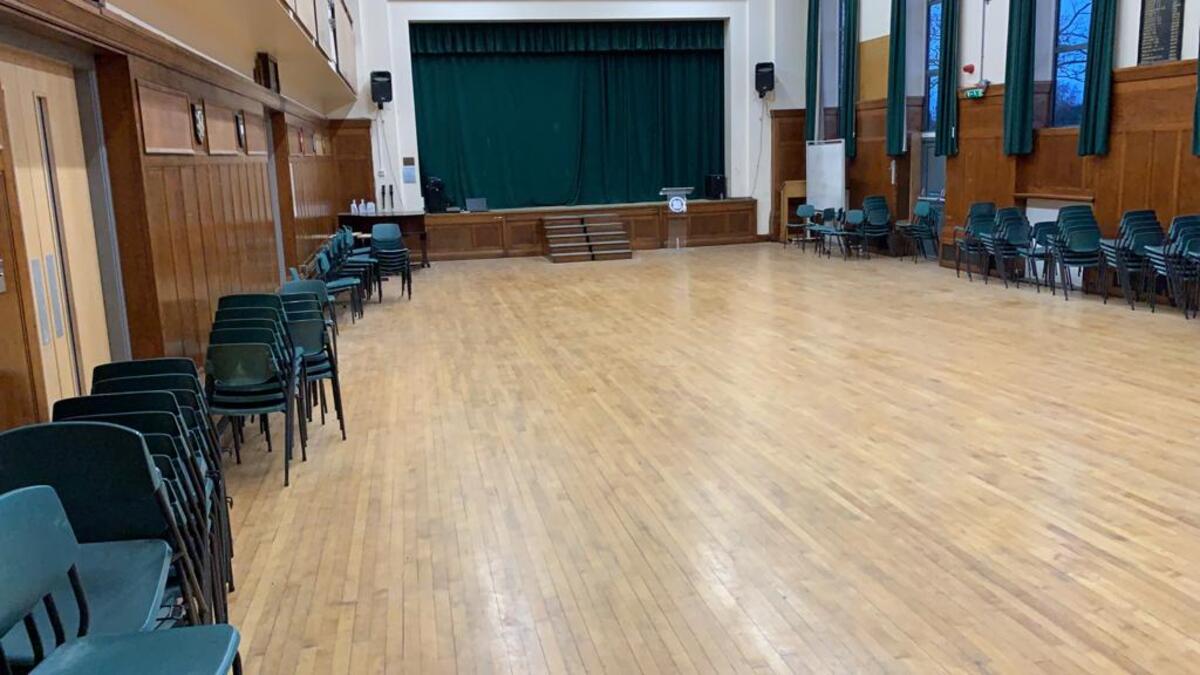 Main Hall  - SLS @ Beverley Grammar School - East Riding of Yorkshire - 3 - SchoolHire