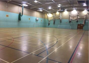 Sports Hall  - SLS @ Lancaster Royal Grammar School - Lancashire - 1 - SchoolHire
