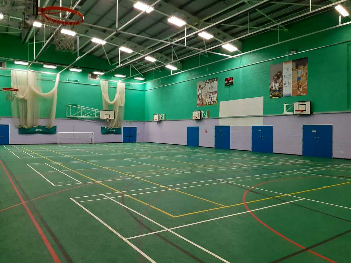Sports Hall - SLS @ Blessed Trinity RC College - Lancashire - 4 - SchoolHire