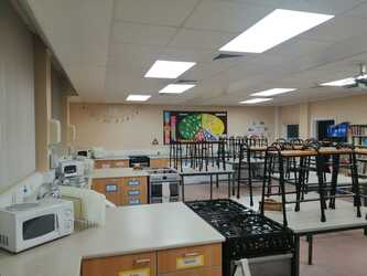 Cookery Room - SLS @ St Christophers CE High School - Lancashire - 3 - SchoolHire