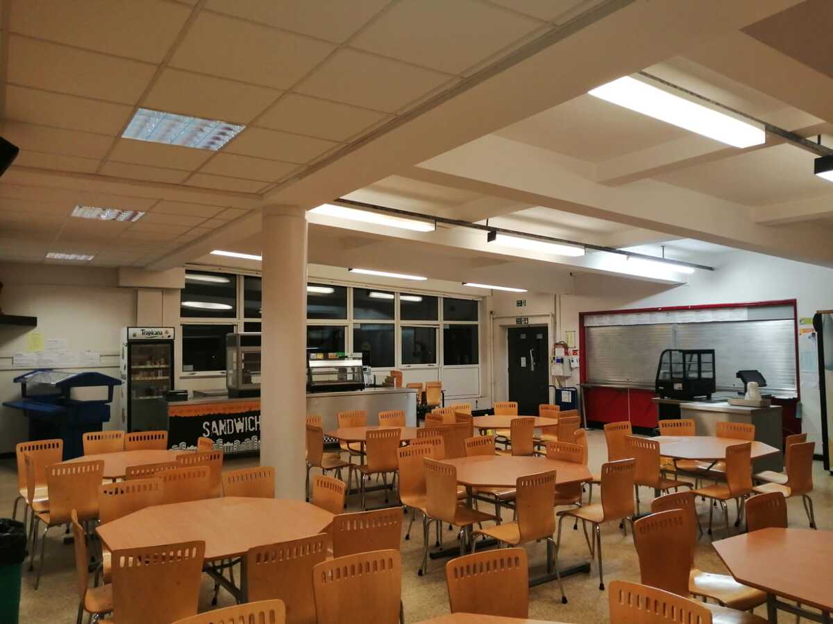 Dining Area  - SLS @ St Christophers CE High School - Lancashire - 1 - SchoolHire
