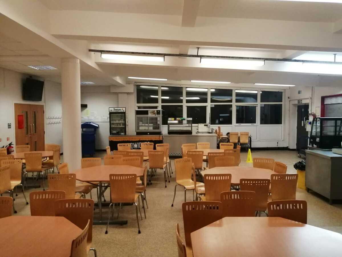 Dining Area  - SLS @ St Christophers CE High School - Lancashire - 3 - SchoolHire