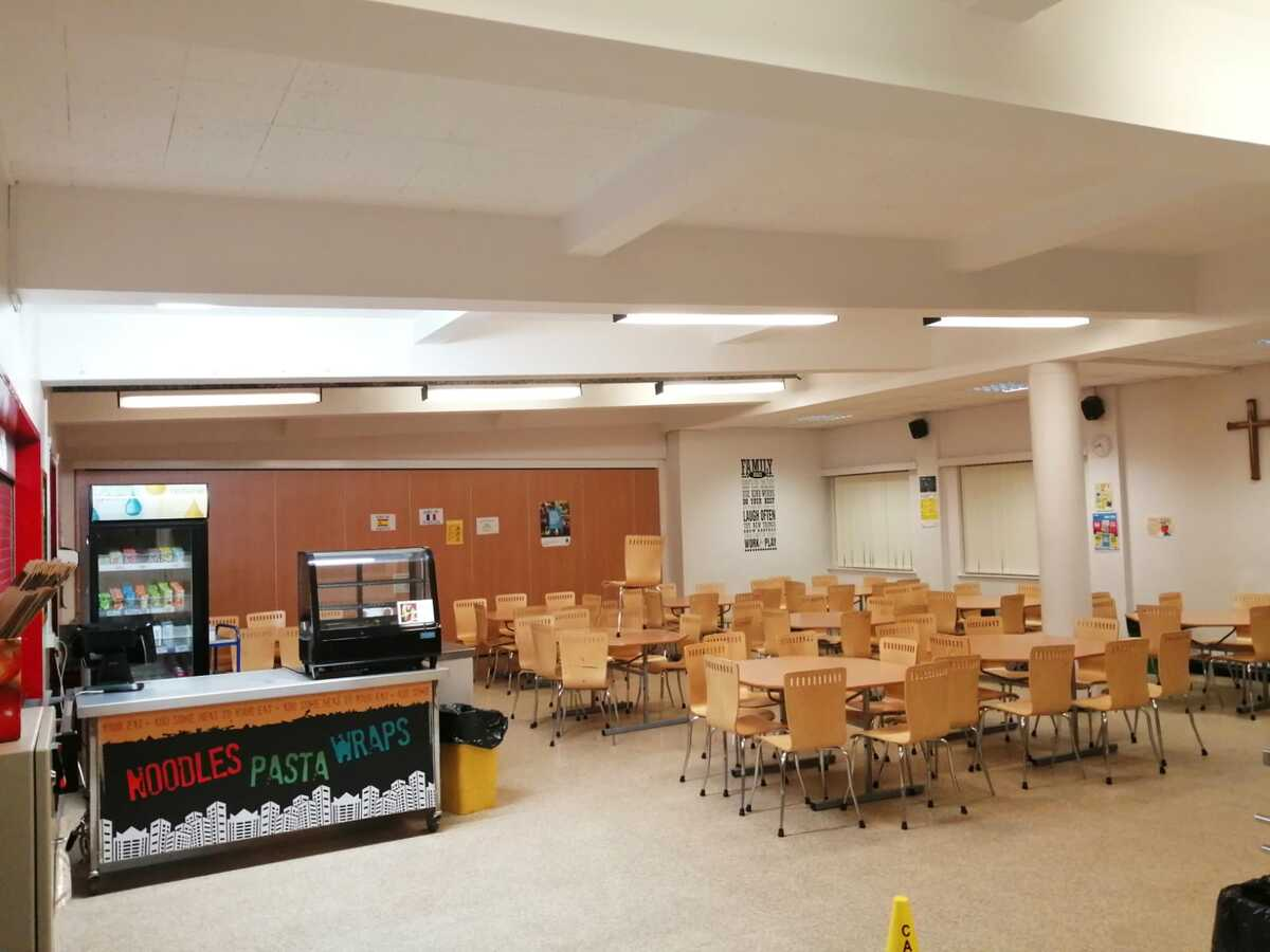 Dining Area  - SLS @ St Christophers CE High School - Lancashire - 4 - SchoolHire