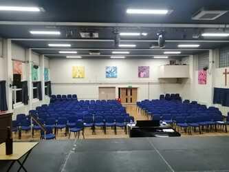Main Hall  - SLS @ St Christophers CE High School - Lancashire - 3 - SchoolHire