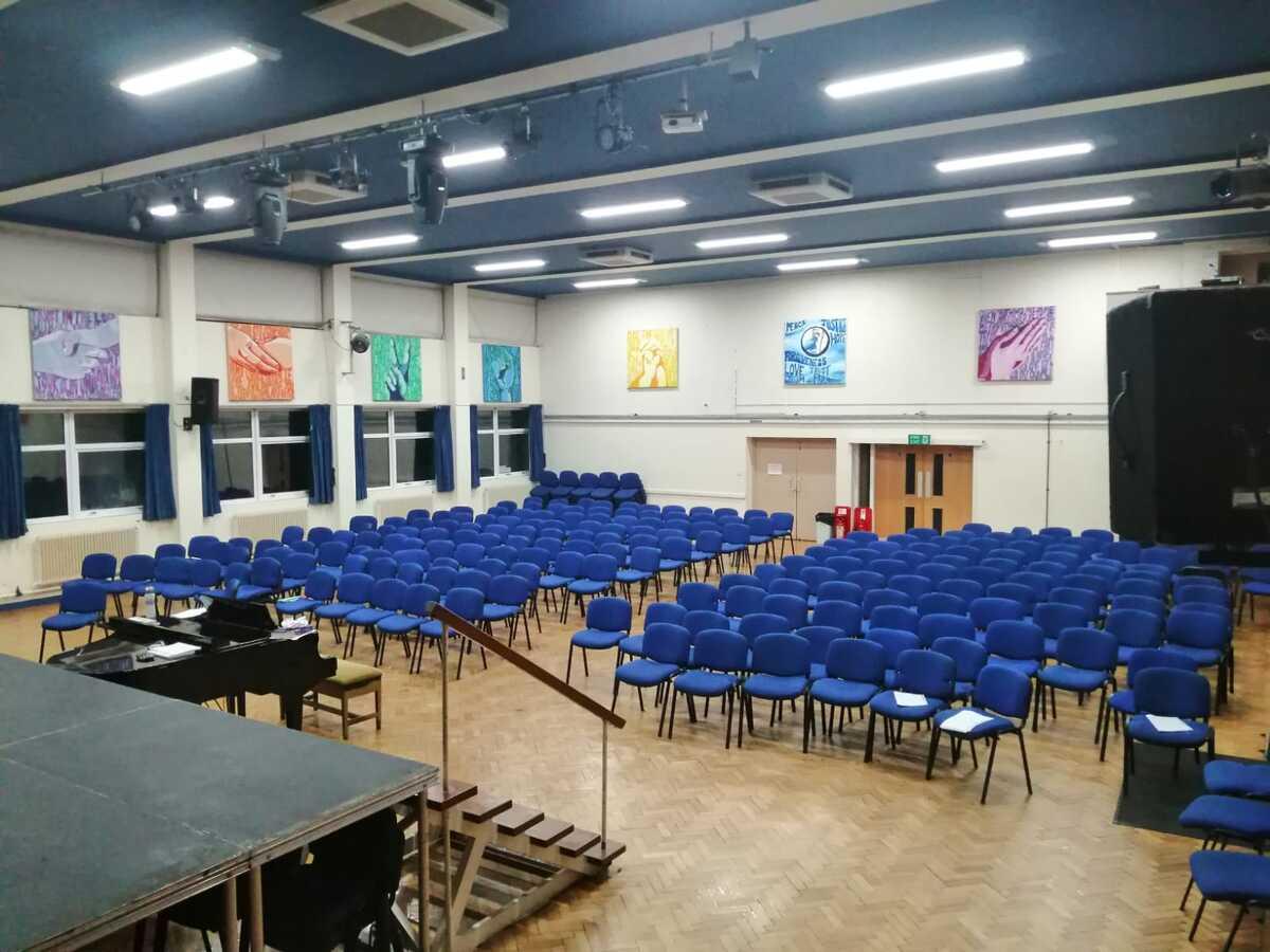 Main Hall  - SLS @ St Christophers CE High School - Lancashire - 4 - SchoolHire