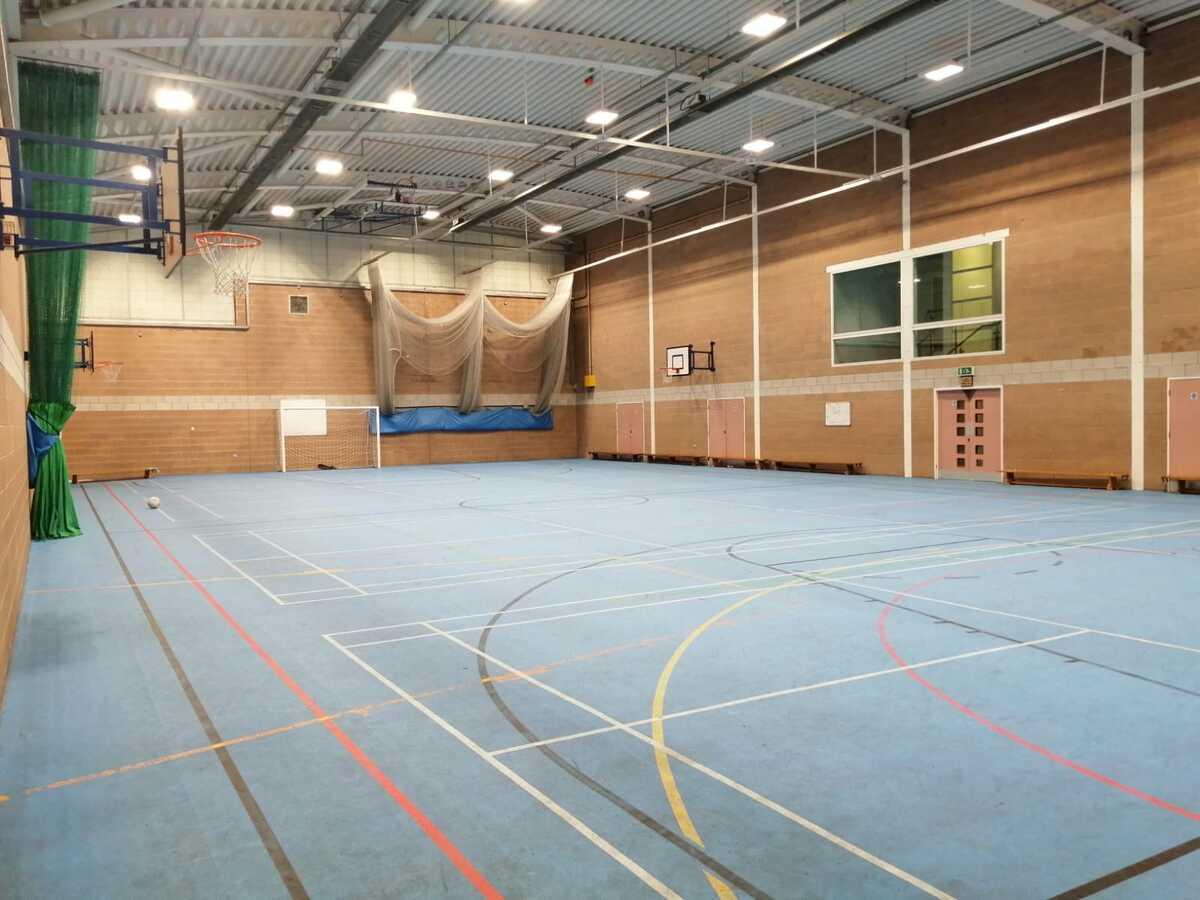Sports Hall  - SLS @ St Christophers CE High School - Lancashire - 3 - SchoolHire