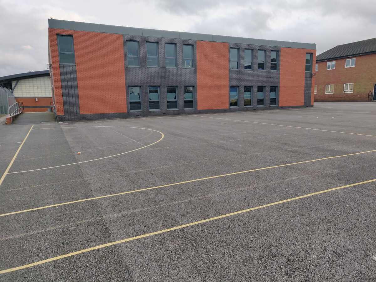 Multi-Use Games Area - SLS @ St Christophers CE High School - Lancashire - 1 - SchoolHire