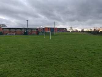 Grass Football Pitch - SLS @ St Christophers CE High School - Lancashire - 4 - SchoolHire