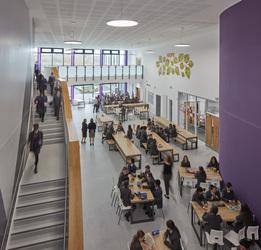 The Agora (Atrium) - The Deanery CE Academy - Swindon - 1 - SchoolHire