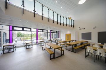 The Agora (Atrium) - The Deanery CE Academy - Swindon - 2 - SchoolHire