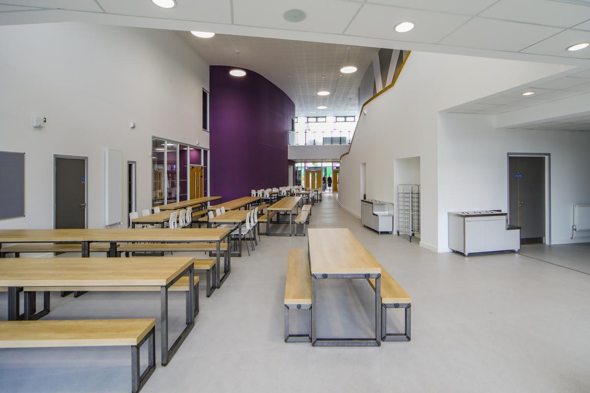 The Agora (Atrium) - The Deanery CE Academy - Swindon - 3 - SchoolHire