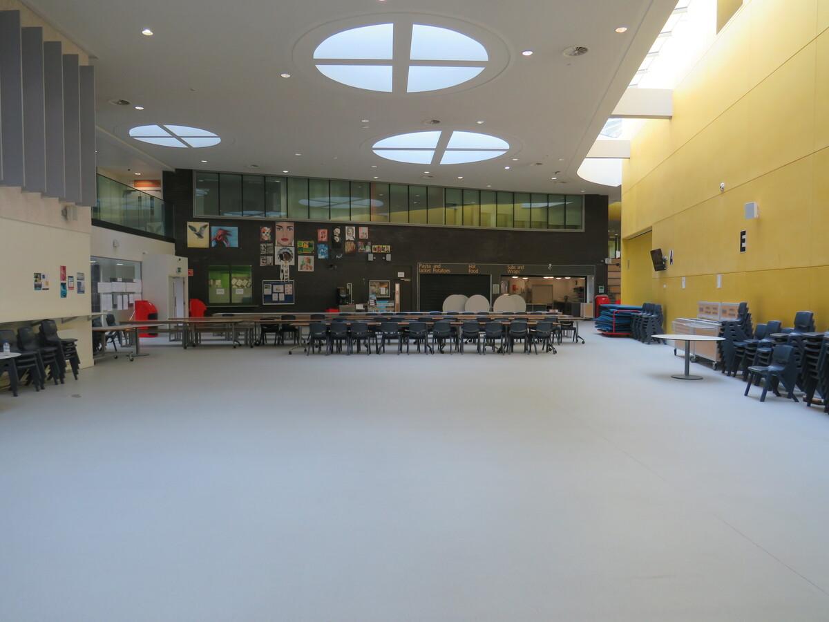 Dining Hall - Darwen Vale High School - Lancashire - 4 - SchoolHire