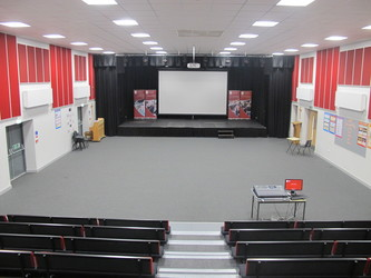 Drama Hall - St Margaret's C of E Academy - Liverpool - 1 - SchoolHire