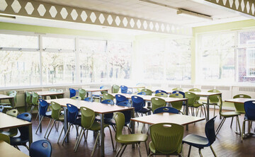 Dining Area - EDU @ Sale High School - Lancashire - 1 - SchoolHire