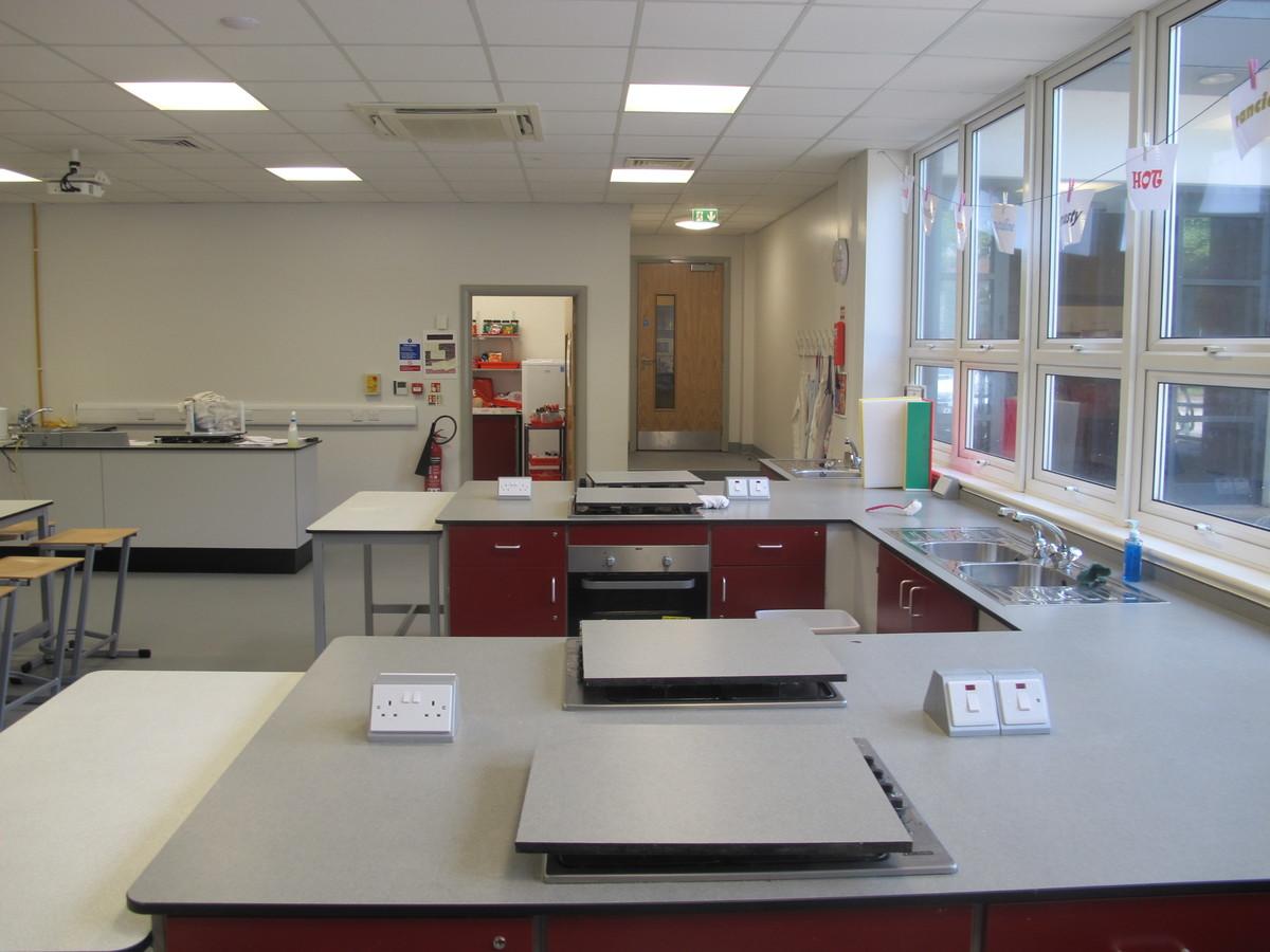 Food Tech Room - St Margaret's C of E Academy - Liverpool - 3 - SchoolHire
